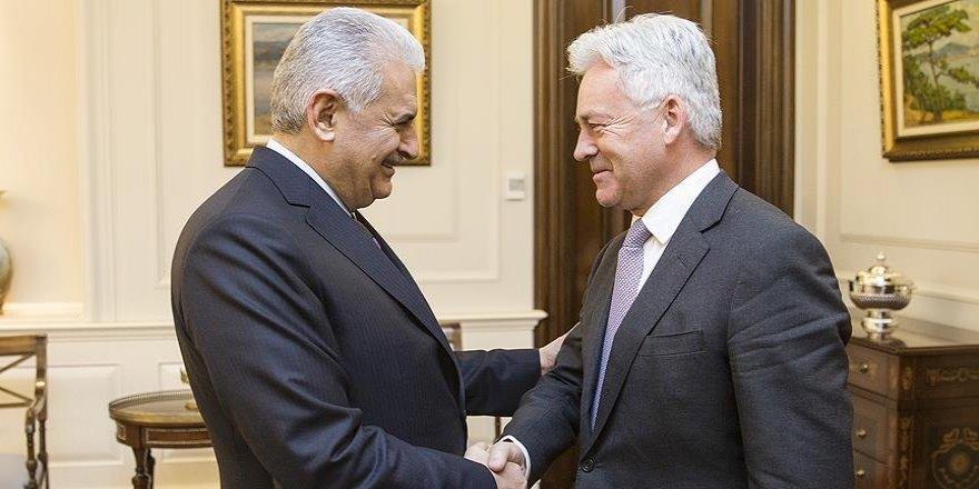 Başbakan Yıldırım İngiliz Bakan Duncan'ı kabul etti