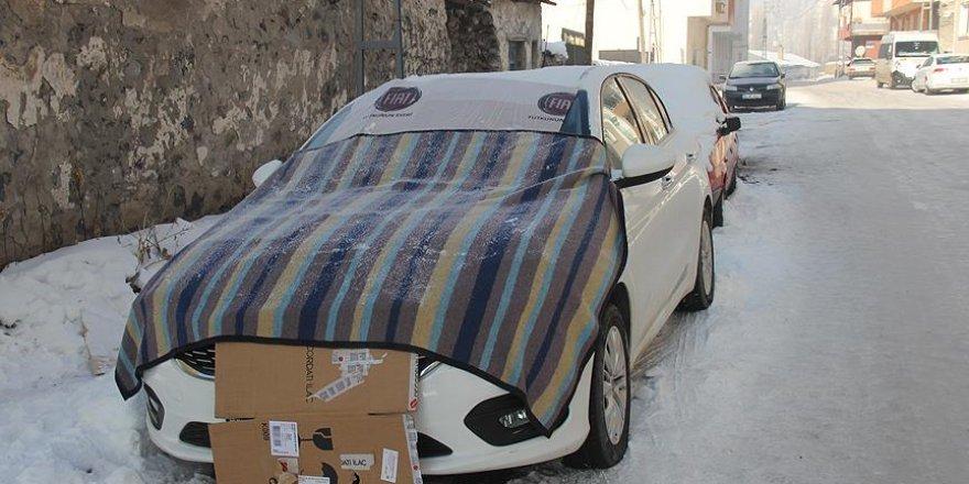 En düşük hava sıcaklığı Kars'ta ölçüldü