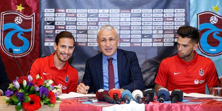 Mas ve Pereira resmen Trabzonspor'da