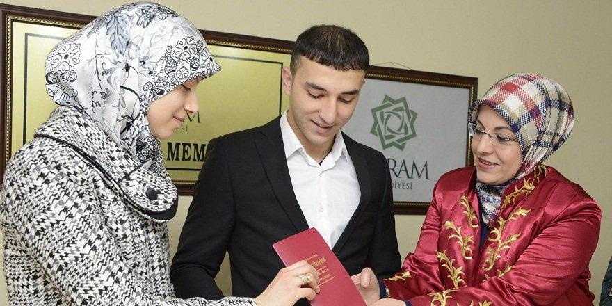 Meram'da 2016 yılında 2 bin 658 nikah kıyıldı