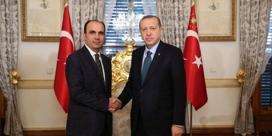 Erdoğan, Başkan Uğur İbrahim Altay'ı kabul etti
