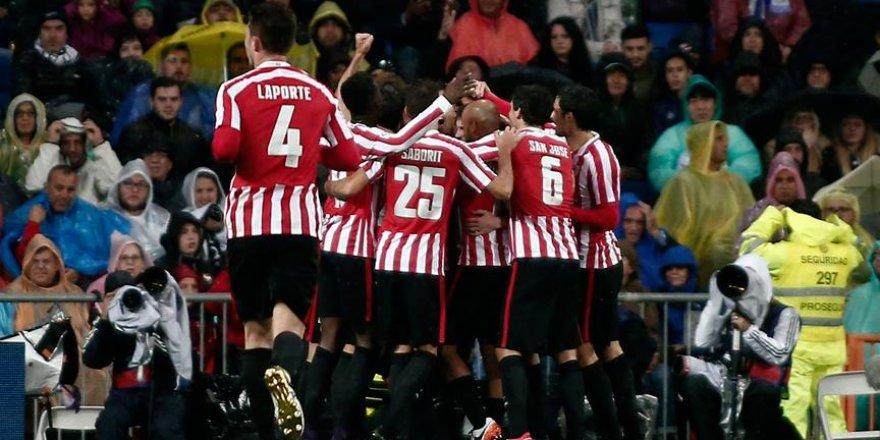Athletic Bilbao kupada Barcelona'yı yendi