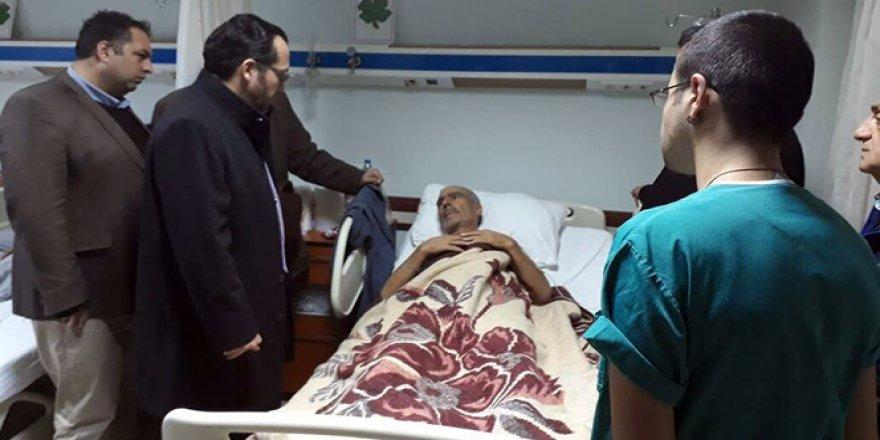 Şahit Seki'nin babası acı haberi hasta yatağında aldı