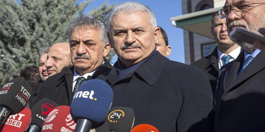 Yıldırım, Irak'ta Bağdat'tan sonra Erbil'e gidecek