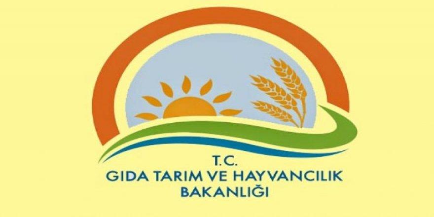 Gıda Tarım ve Hayvancılık Bakanlığı Konya Bölgesi ihraç listesi
