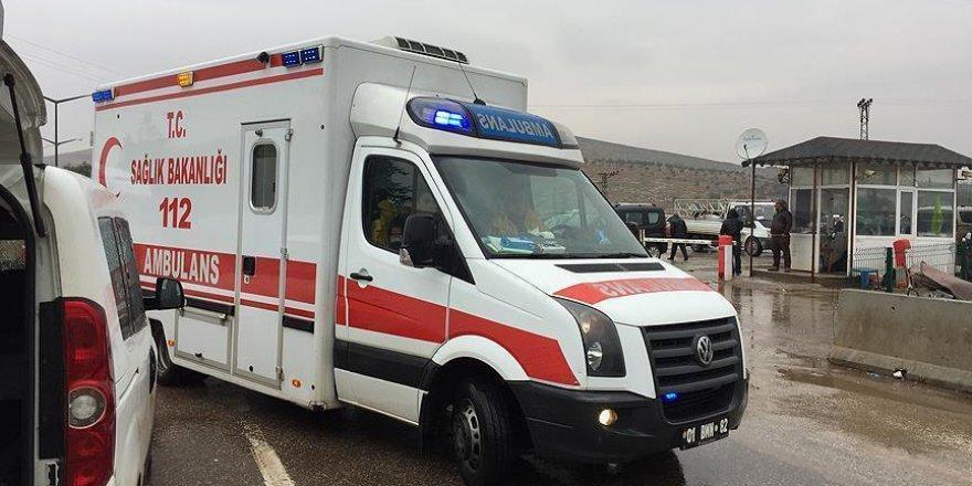 Hatay'a getirilen yaralı sayısı 438'e yükseldi