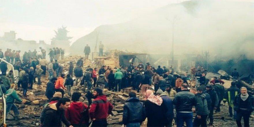 Patlama sesi Türkiye'den duyuldu: 60 ölü!