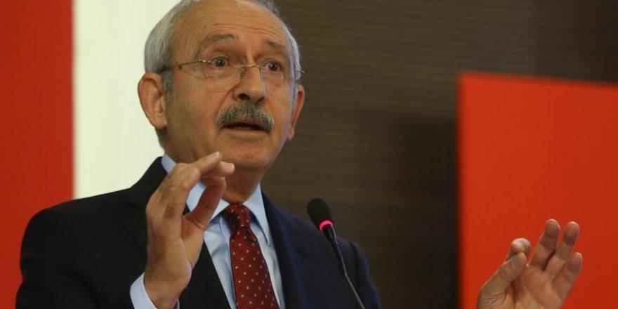 Kılıçdaroğlu: Teröre karşı durmak hepimizin namus borcudur