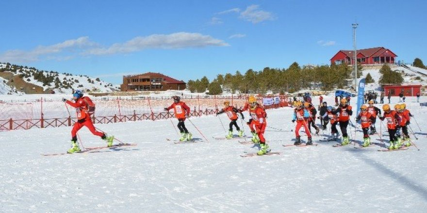 Ergan Dağı Türkiye dağ kayağı şampiyonasına ev sahipliği yaptı