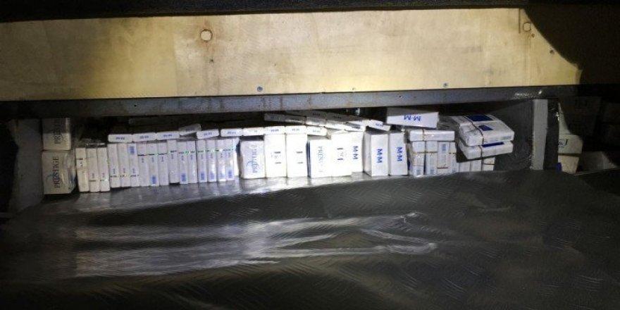 Mardin'de 2 bin 660 paket kaçak sigara ele geçirildi