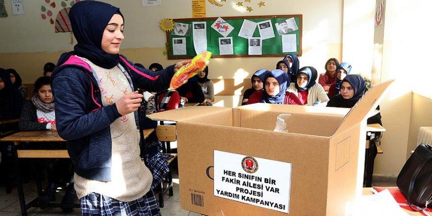 'Her Sınıfın Bir Fakir Ailesi Var'
