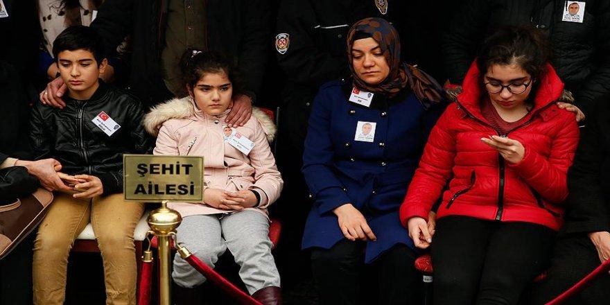 Şehit çocukları için yardım kampanyası