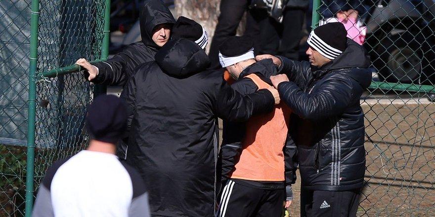 Beşiktaş'ta Gökhan Gönül korkuttu!