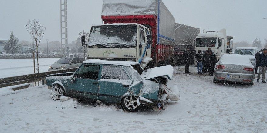 Aksaray-Konya karayolunda kaza: 6 yaralı