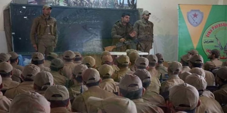 ABD'li askerlerin teröristleri eğittiği görüntüler