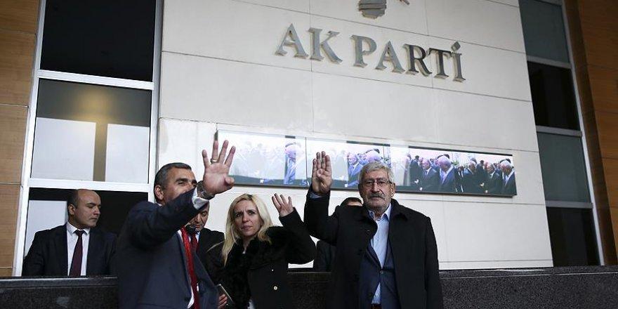Celal Kılıçdaroğlu AK Parti Genel Merkezi'nde