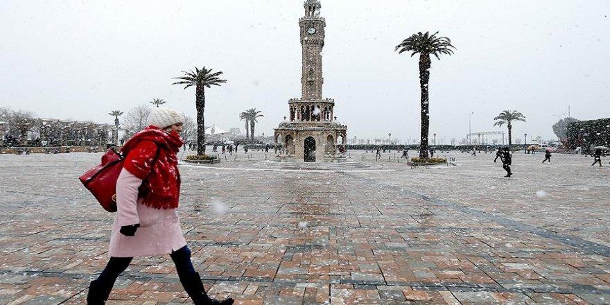 İzmir'de kar tatili