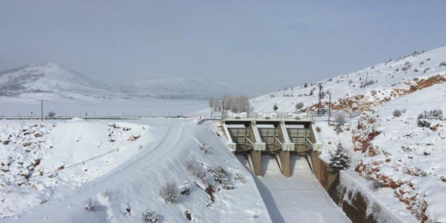 Kar yağışı barajlara yaradı