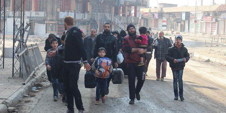 Musul'da 135 binden fazla kişi yerinden oldu