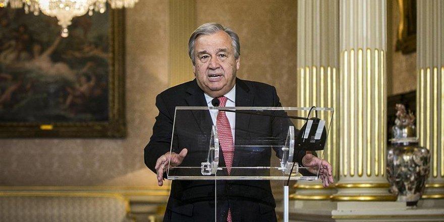 Guterres, BM'ye görevini hatırlattı