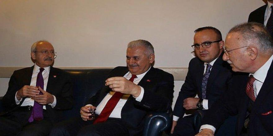Yıldırım Meclis'te Kılıçdaroğlu ile görüştü