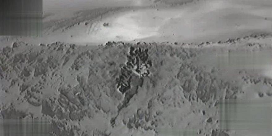 Irak'ın kuzeyinde 14 hedef imha edildi