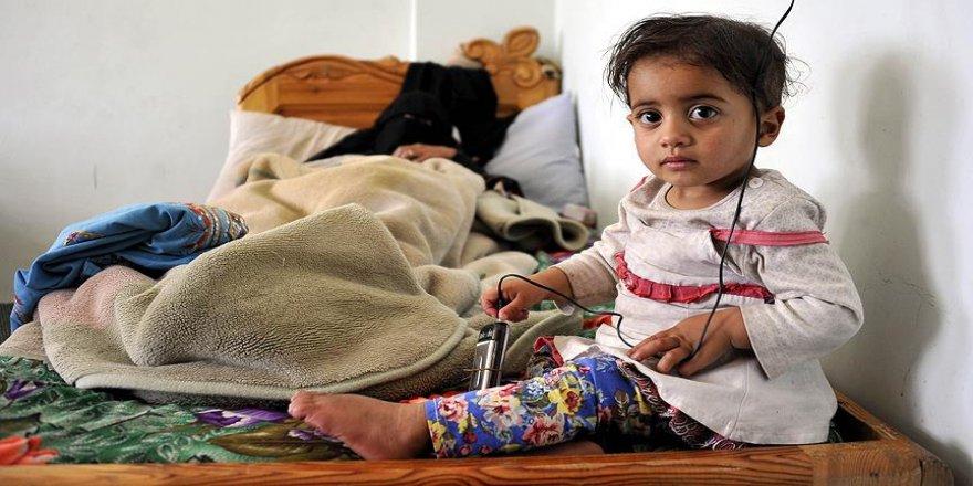 Yemen'deki çatışmaların mağduru çocuklar