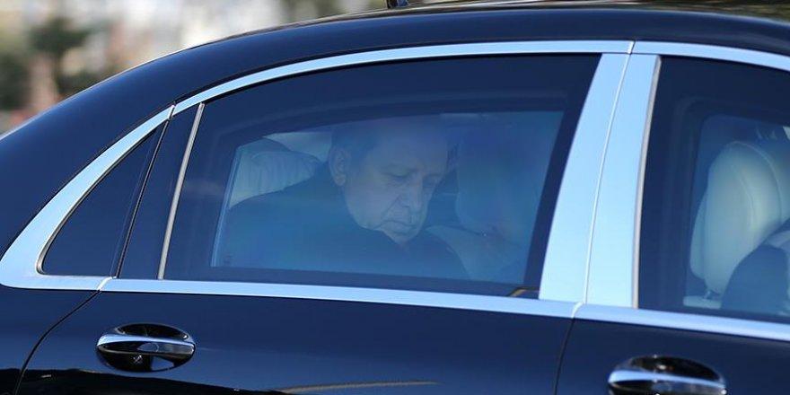 Cumhurbaşkanı Erdoğan'dan Kahraman'a ziyaret