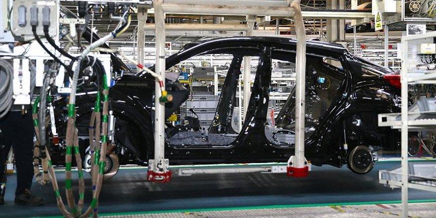 Üretilen her 100 araçtan 77'si ihraç edildi