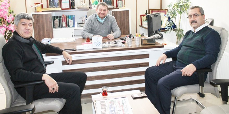 İbrahim Ethem İHL'den gazetemize 10 Ocak ziyareti