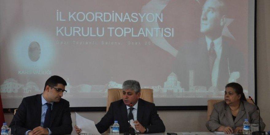 2017 yılının ilk İl Koordinasyon Kurulu Toplantısı yapıldı
