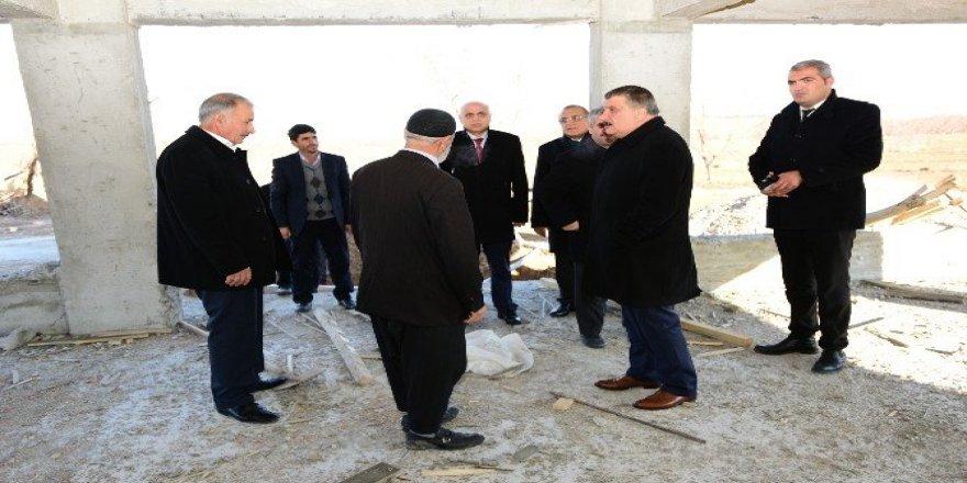 Gürkan Karaköy Mahallesi sakinleri ile bir araya geldi