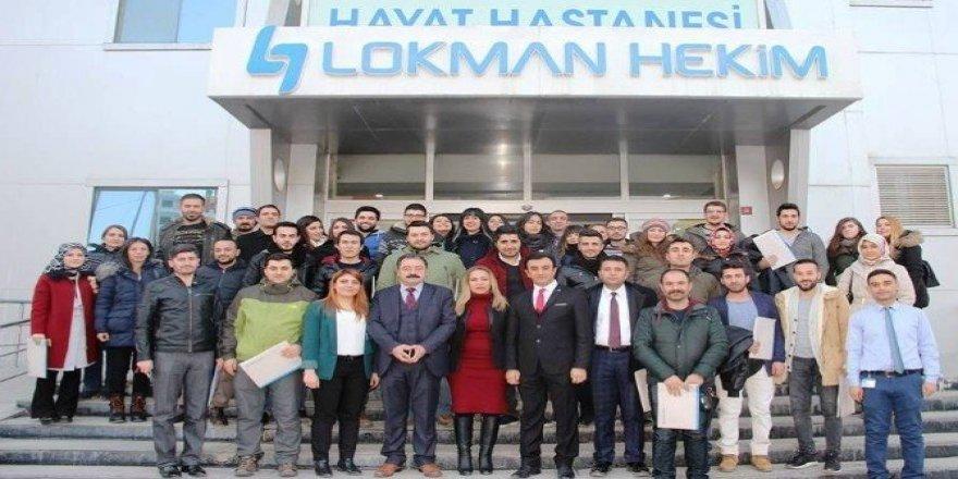 Lokman Hekim Hayat Hastanesi'nden öğretmenlere ilk yardım eğitimi