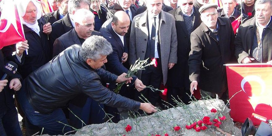Çınar'daki terör kurbanları anıldı