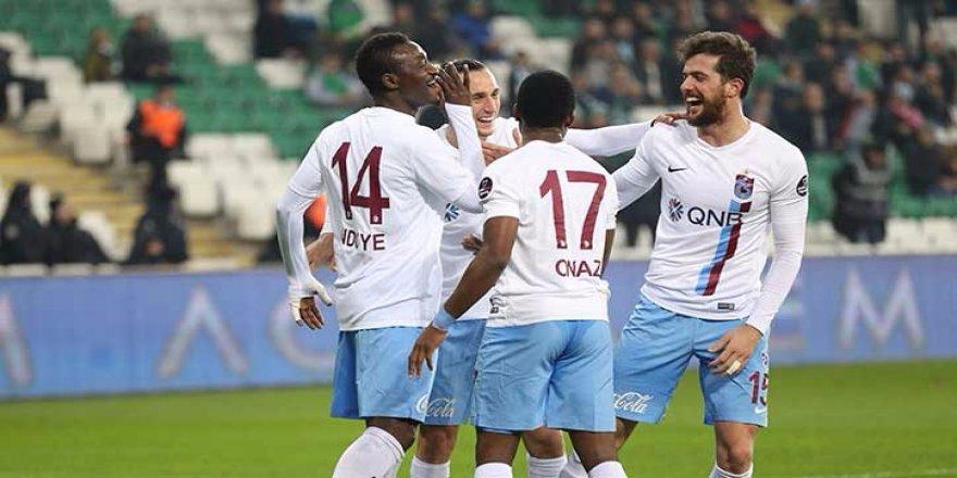 Trabzonspor deplasmanda Bursaspor'u mağlup etti
