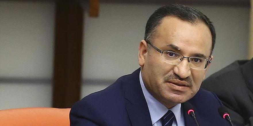 Adalet Bakanı Bozdağ: Halk sandıkta bir uzlaşma ortaya koyacak