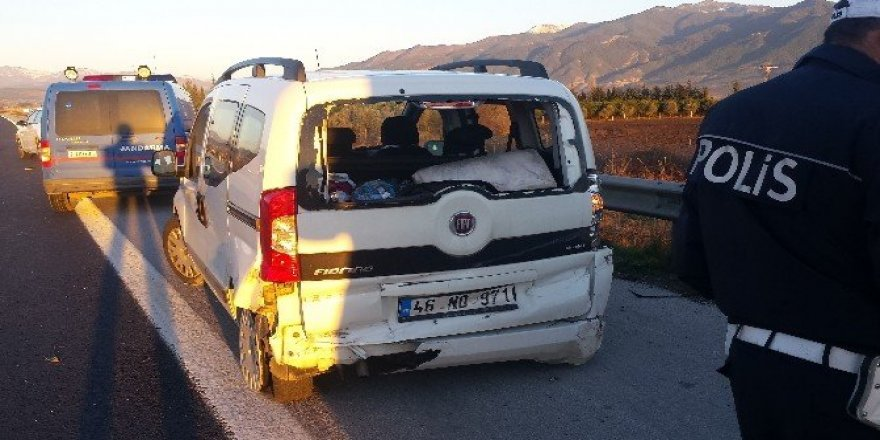 Osmaniye'de trafik kazası: 5 yaralı