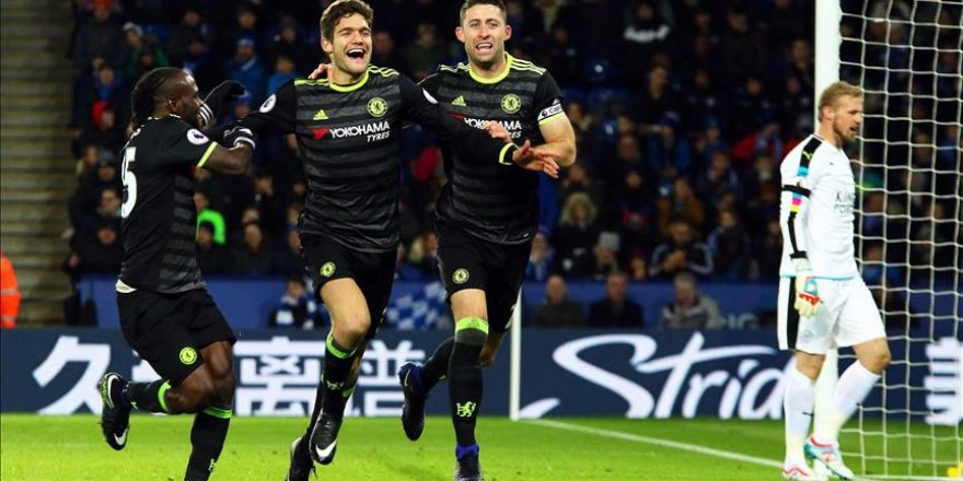 Chelsea son şampiyona puan vermedi