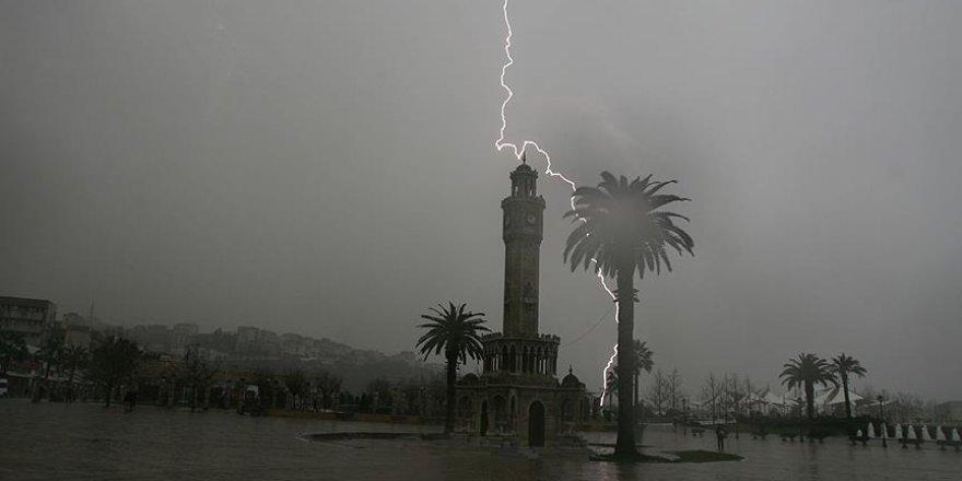 Meteorolojiden şiddetli yağış uyarı