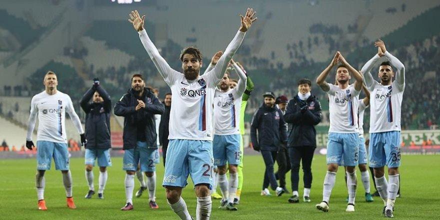 Trabzonspor'da goller yerli oyunculardan