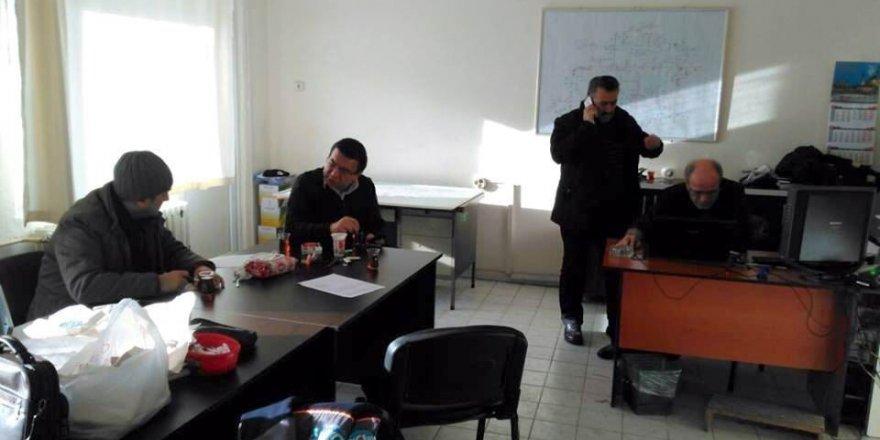 Başkan Tutal'dan MEDAŞ ekiplerine teşekkür