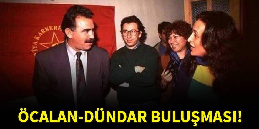 Can Dündar, PKK'nın elebaşı Öcalan'la aynı karede