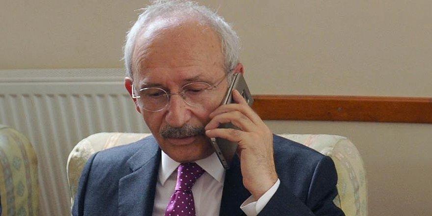 Kılıçdaroğlu'ndan şehit ailelerine 'taziye' telefonu