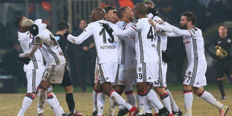 Başkentte gülen taraf Beşiktaş