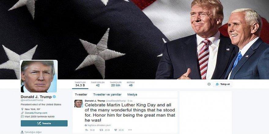 'Trump kendi sosyal medya hesabını kullanmayı planlıyor'