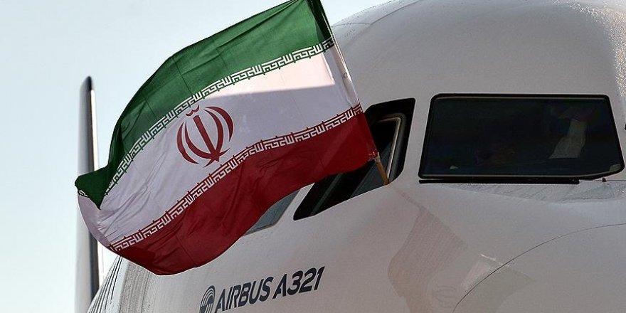 Yolcu uçağı 'İmam Rıza Türbesi'ni tavaf etti