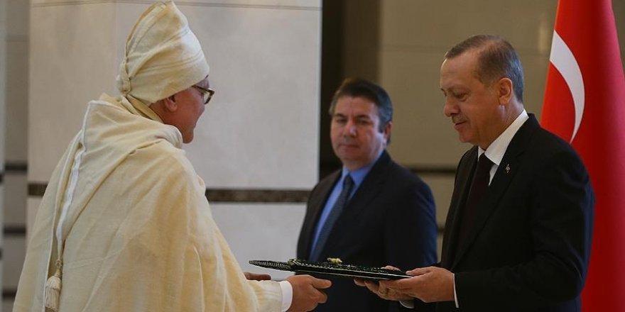 Erdoğan, Namibya'nın Ankara Büyükelçisini kabul etti