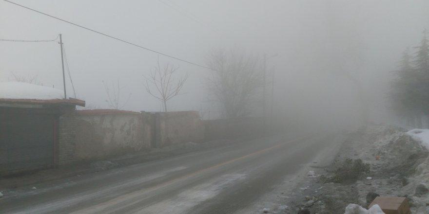 Konya sis etkili oluyor