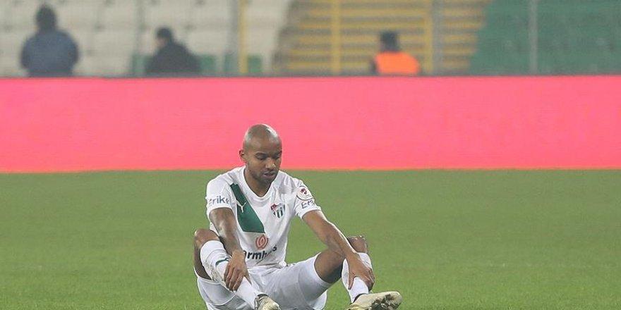 Bursaspor'un galibiyet hasreti 5 maça çıktı