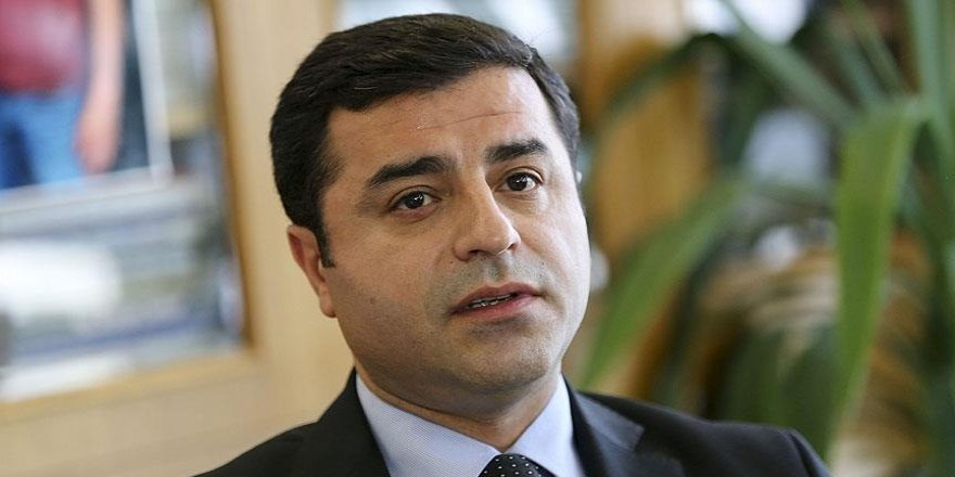 Demirtaş'a 'Cumhurbaşkanına hakaret'ten hapis istemi